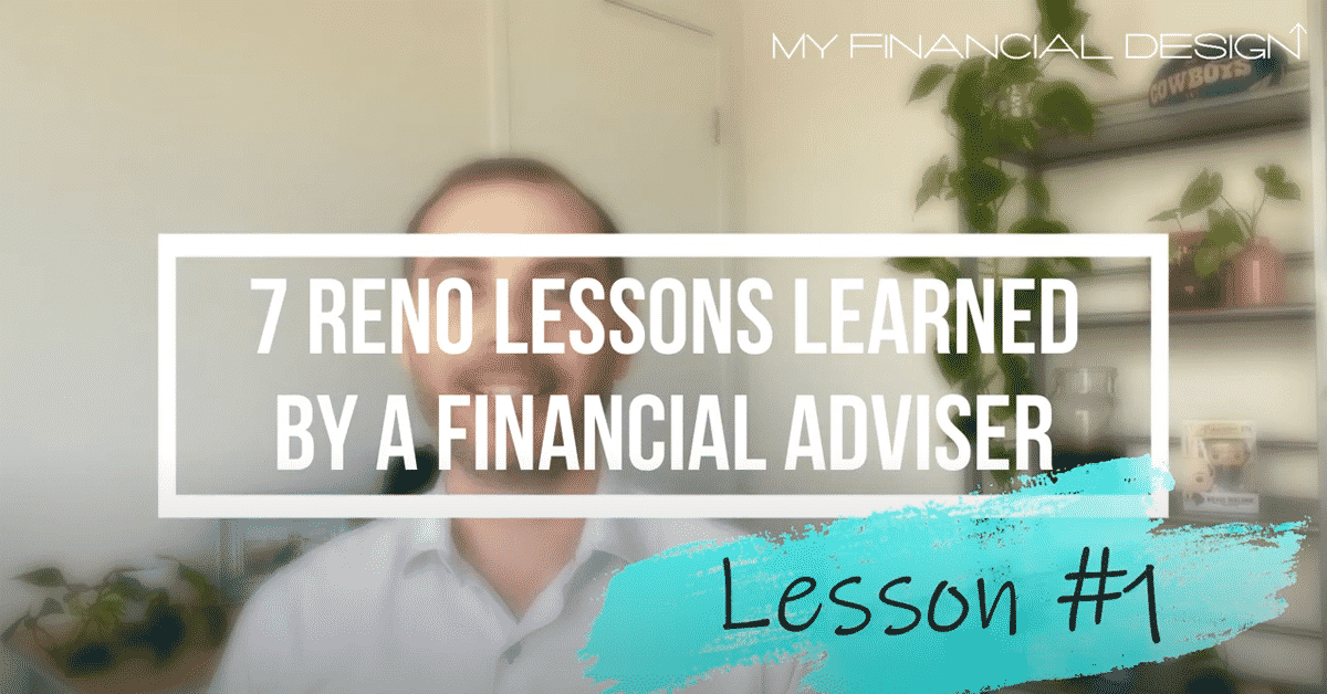 7 Reno Lession Learned By A Financial Adviser #1 Blog Image