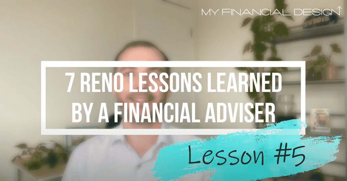 7 Reno Lession Learned By A Financial Adviser #5 Blog Image
