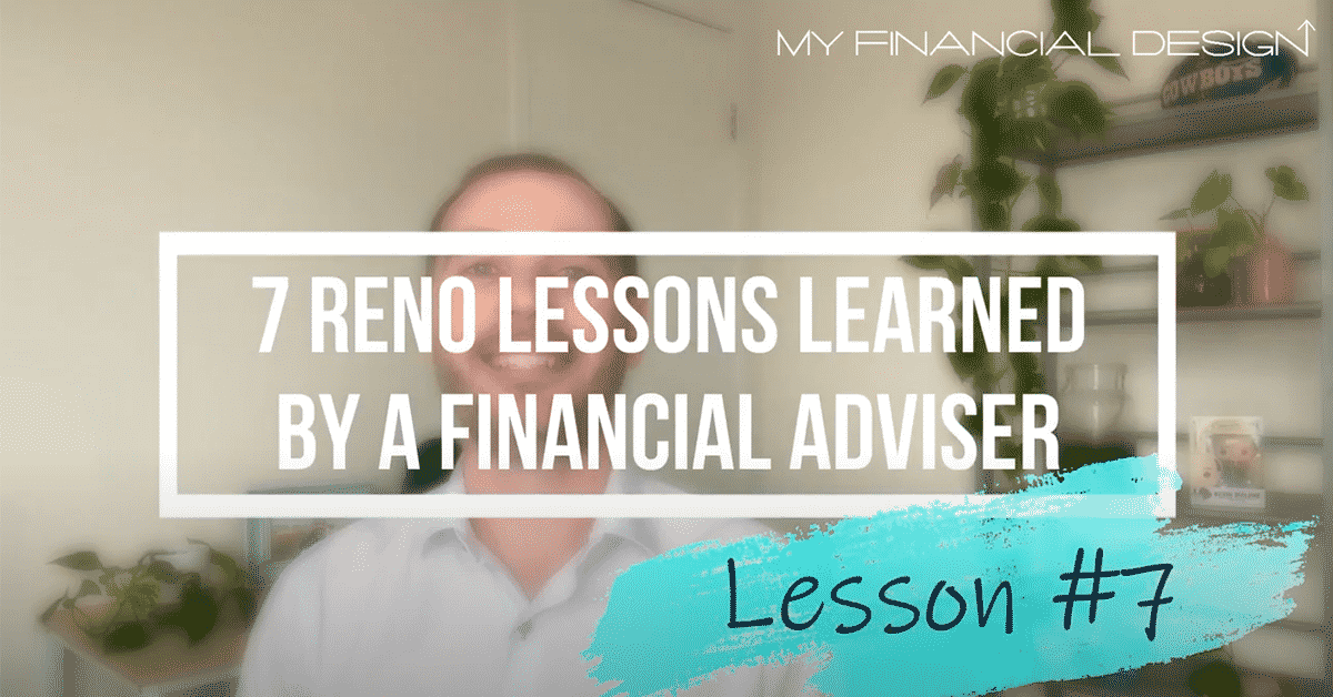 7 Reno Lession Learned By A Financial Adviser #7 Blog Image