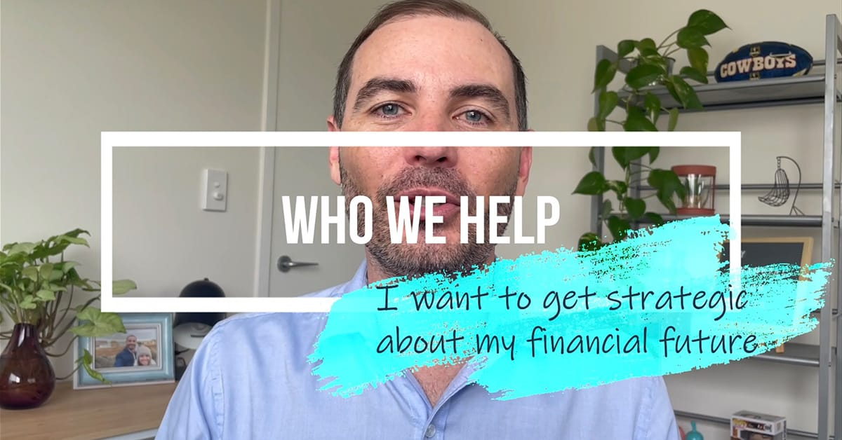I Want To Get Strategic About My Financial Future